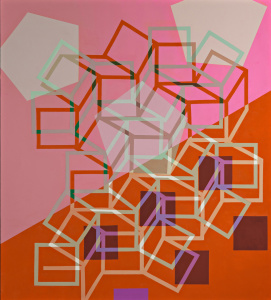 JeanetteFintz_ Matrix_The Cold Pink_2015_a_c_60x54in